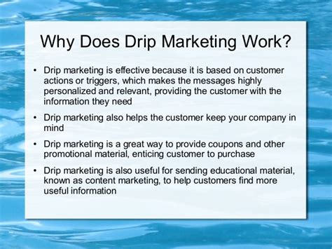 drip marketing caign template 10 step exle of an effective drip marketing caign