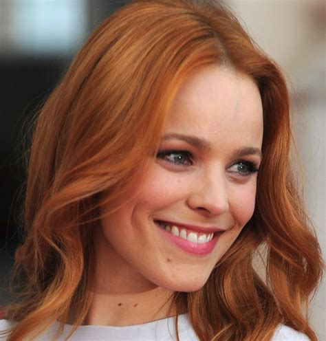 red brunette hair color over 50 rachel mcadams red hair lovely locks pinterest