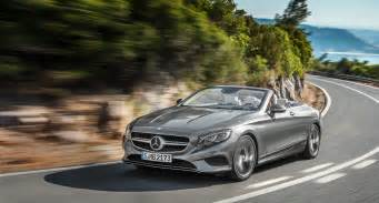 Top Mercedes Dealerships Open Top Luxury The New Mercedes S Class Cabriolet