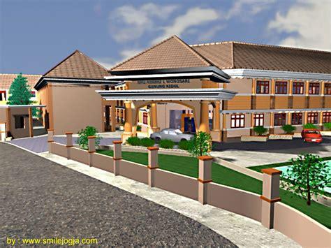 desain bangunan gedung dengan 3d max pelatihan teknologi informasi sdm yogyakarta