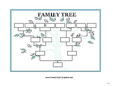 plain family tree template images templates design ideas