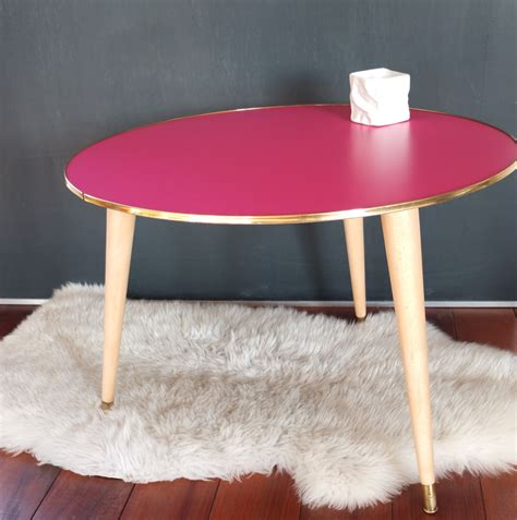 table basse tripode fifties vintage magic