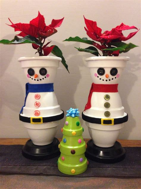 christmas pots candles pots crafting pinterest