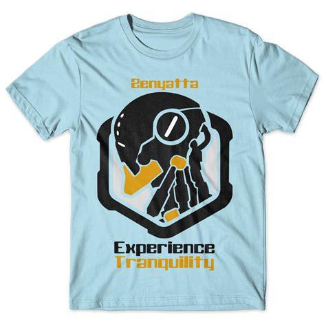 T Shirt Kaos Overwatch zenyatta experience tranquility overwatch chicken