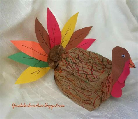 Paper Turkeys To Make - make flowers easy and craft for with