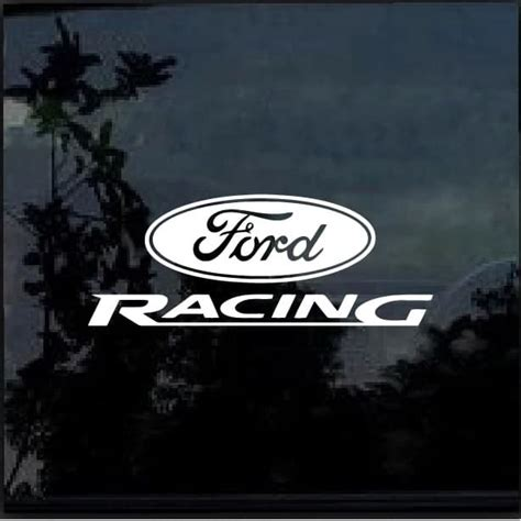 Ford Racing Aufkleber by Ford Racing Decal Sticker Custom Sticker Shop