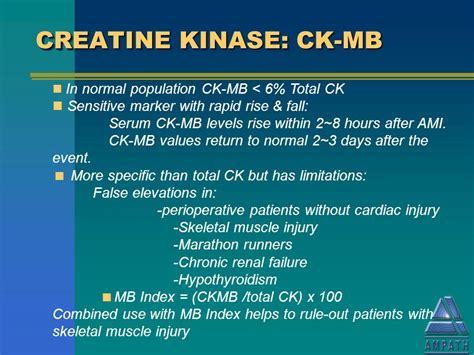 creatine kinase total بسم الله الرحمن الرحيم ppt