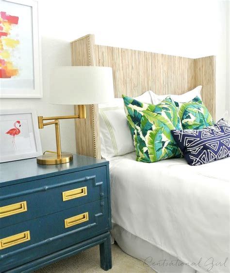 Centsational Headboard by Centsational Diy Grasscloth Covered Headboard