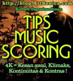 film scoring adalah tips bikin music scoring artsonica blog by agus hardiman