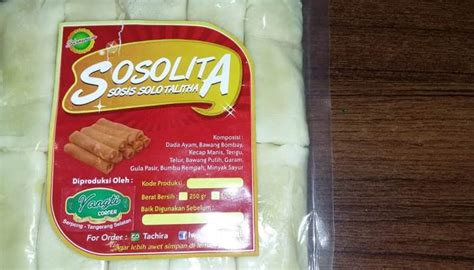 sosis solo sosolita camilan enak  tangsel palapa news
