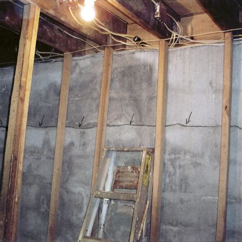 repair basement cracks 5 causes of a damaged basement foundation nusite