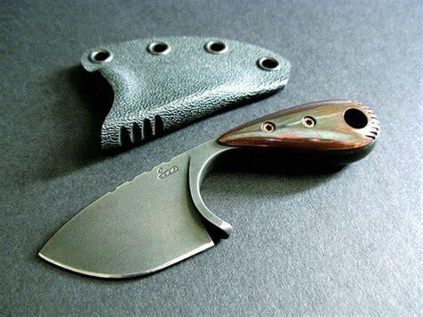 custom neck knives custom neck knife 027 anvil iron