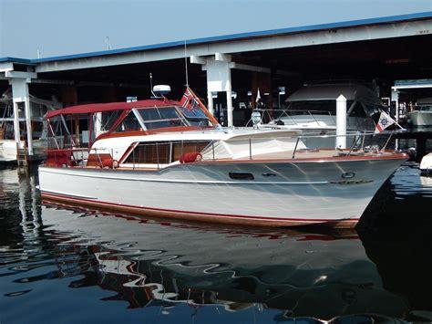 chris craft boats seattle 1960 chris craft 36 constellation express seattle