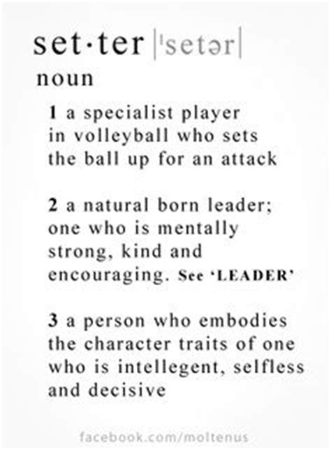 Setter Definition In Volleyball | volleyball volleyball setter and definitions on pinterest
