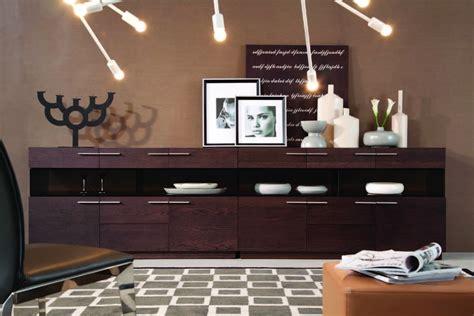 modern buffet for a utilitarian modern dining room la furniture