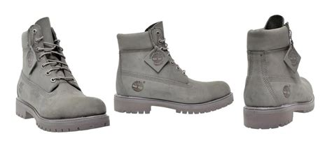 6 inch mono grey boots by timberland