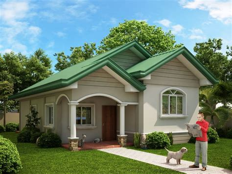 one story tiny house one story dream home series odh 2015002 pinoy dream home