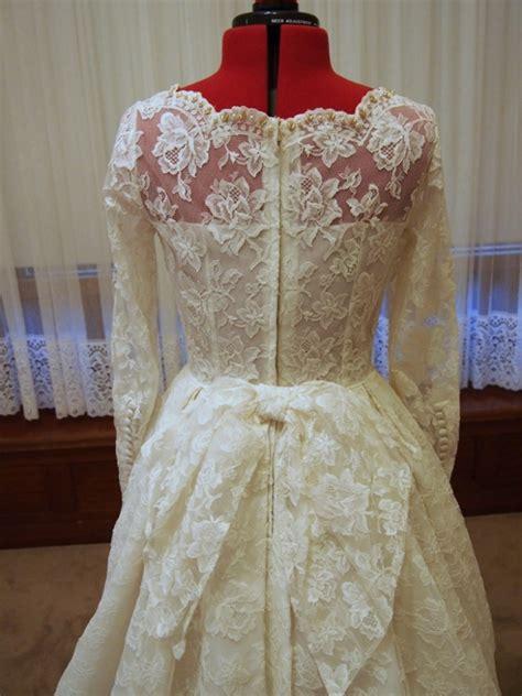 Vintage Wedding Aisle by Antique Lace A Line Vintage Wedding Dress Juliet