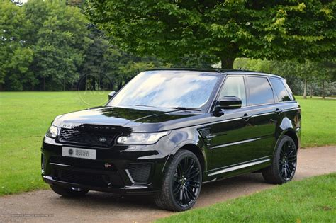 range rover sport black the incredible all black range rover sport svr sold