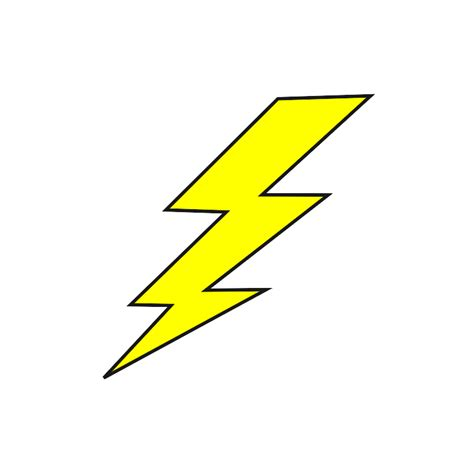 picture of a lightning bolt cliparts co