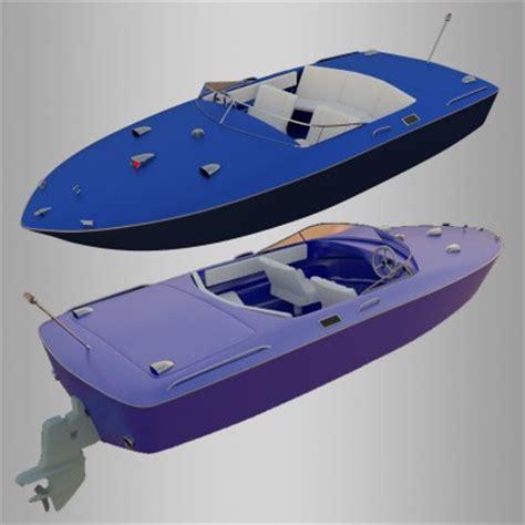 Blender Boat Model model 69 chris craft boat blendernation