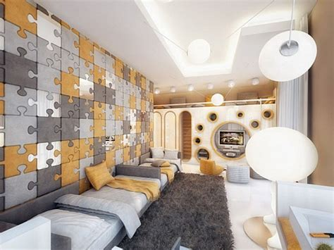 puzzle rooms fresh ideas for decorating your walls