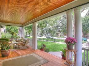 Beadboard Patio Ceiling - country porch with doric columns amp gate in colorado springs co zillow digs