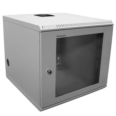 19 inch server cabinet amazon com startech com 10u 19 inch wall mounted server