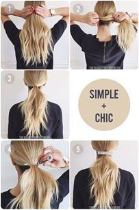 easy hairstyles for work hair easy hairstyles for hair for school step by step