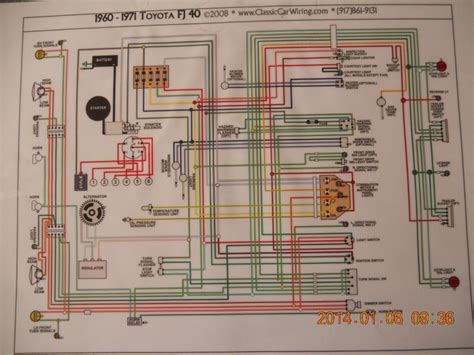 wiring diagram 1970 toyota fj40 get free image about