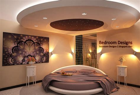 Modern Bedroom Ceiling Design Modern Bedroom Design Idea With Gypsum Board Ceiling