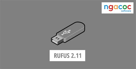 tutorial rufus 1 4 12 rufus 2 11 portable terbaru ngacoc software