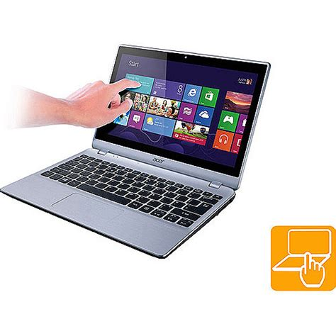 Laptop Acer Aspire V5 4 Ms2360 acer sleekbook silver 11 6 quot v5 122p 0408 touch laptop pc