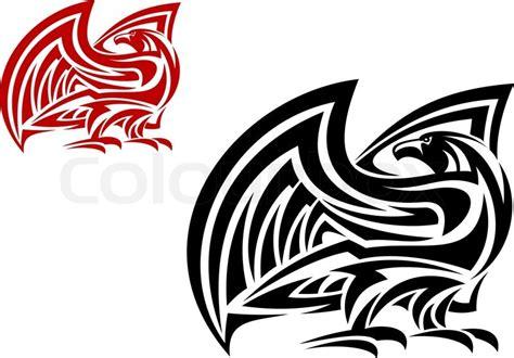 Eagle Decor Tribal Eagle Mascot Stock Vector Colourbox
