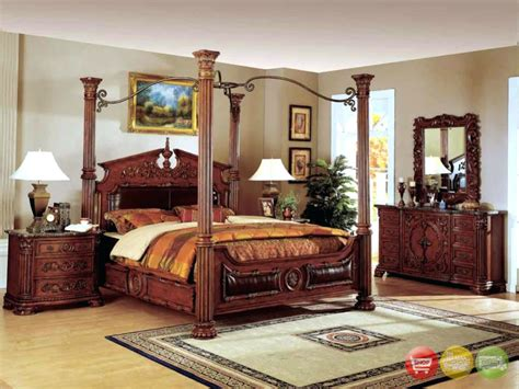 White Canopy King Bedroom Set by Bedroom Poster Bedroom Sets Luxury Traditional Canopy Bed