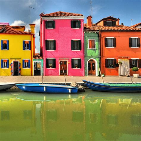 colorful houses painting colorful burano italy houses are painted bright so drunk
