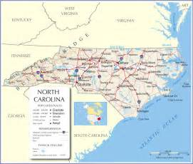 carolina cities map carolina state map carolina state map