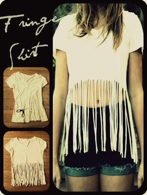 how to make fringe shirts with diy projects to try make your own fringe t shirt pretty