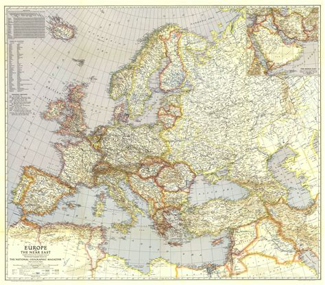 middle east map in 1940 europe before and after the world war 2 maps