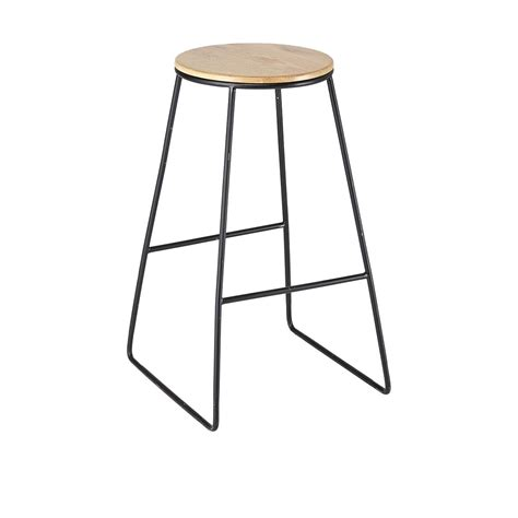 black industrial stool kmart