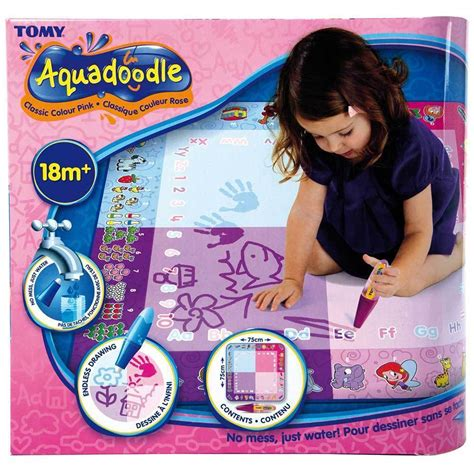 how to use aquadoodle aquadoodle classic mat pen water drawing play draw