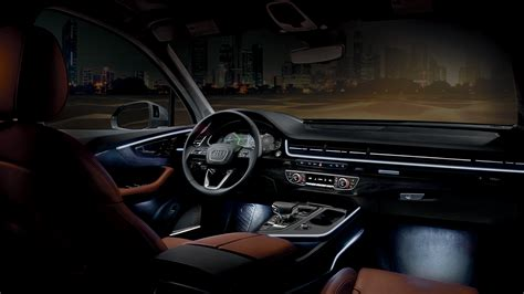 Audi A4 Ambientebeleuchtung by Audi Q7 2017 Interior Lighting Billingsblessingbags Org