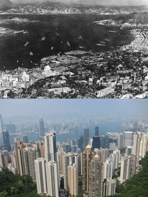 urbanization of hong kong yesterday and today context
