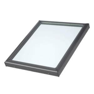 velux 34 1 2 in x 34 1 2 in fixed curb mount skylight
