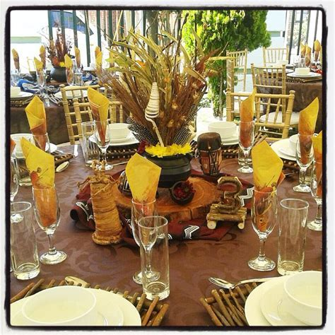Cheap garden supplies: Xhosa wedding decor