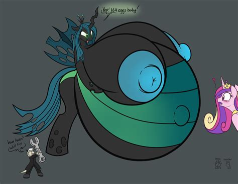mlp queen chrysalis pregnant the gallery for gt queen chrysalis unbirth