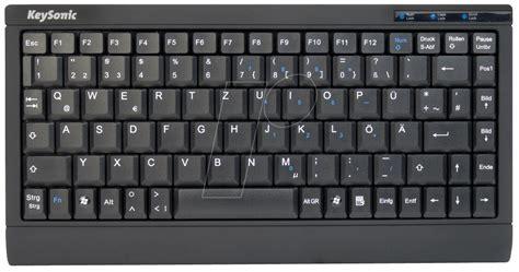Keyboard Elektronik keysonic ack595p keyboard ps 2 usb black at reichelt elektronik