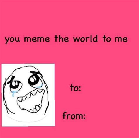 Funny Valentine Meme Cards - best 25 bad valentines ideas on pinterest bad