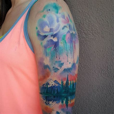 water paint tattoos 130 best watercolor designs meanings unique