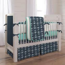 Crib Bedding Boys Navy Anchors Crib Bedding Nautical Boy Baby Bedding